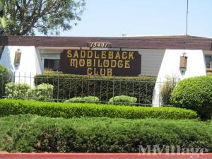 Photo of Saddleback Mobilodge, Tustin, CA