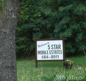 Photo of Five Star Mobile Estates, Vadnais Heights, MN