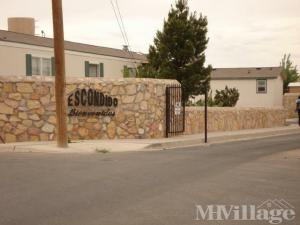 Photo Of Escondido Mobile Home Park El Paso TX