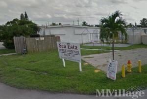 Photo of Sea Esta Mobile Home Court, Hallandale, FL