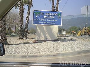 Photo Of El Dorado Palms Mobile Home Estates Yucaipa CA