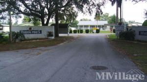 Photo Of Marion Pines Mobile Home Park Ocala FL