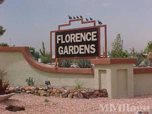 Florence az senior retirement living manufactured and mobile home photo of florence gardens florence az publicscrutiny Gallery