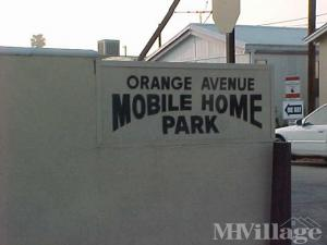 Photo Of Orange Avenue Mobile Home Park Paramount CA