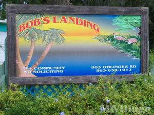 Photo of Bob's Landing Mobile Home Park, Babson Park, FL