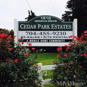 Photo of Cedar Park Estates, Concord, NC