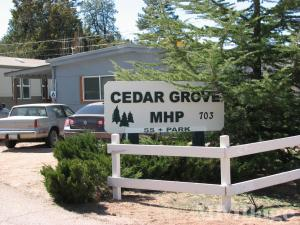 Photo of Cedar Grove Mobile Home Park, Payson, AZ