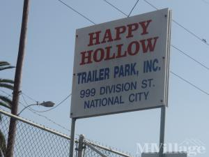 Photo of Happy Hollow Trailer Park, National City, CA