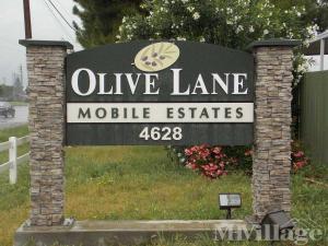 Photo Of Olive Lane Mobile Estates Modesto CA