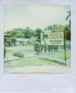 Photo Of Tropical Garden Mobile Home Park Bradenton FL
