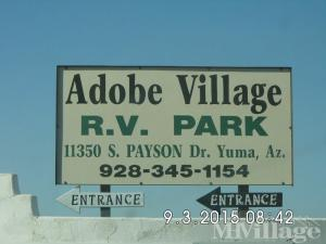Photo of Adobe Village RV Park, Yuma, AZ